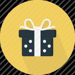 celebrate, celebration, decoration, dot, giftbox, party icon
