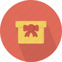 bow, giftbox icon