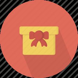 bow, giftbox icon