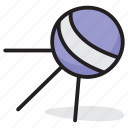 astronomy, earth satellite, flying saucer, space probe, sputnik