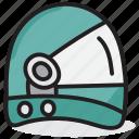 astronaut hat, head protector, headgear, headwear, space helmet