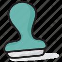 endorsement stamp, hallmark, identification stamp, signature mark, stamp