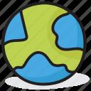 earth, globe, map, planet, sphere