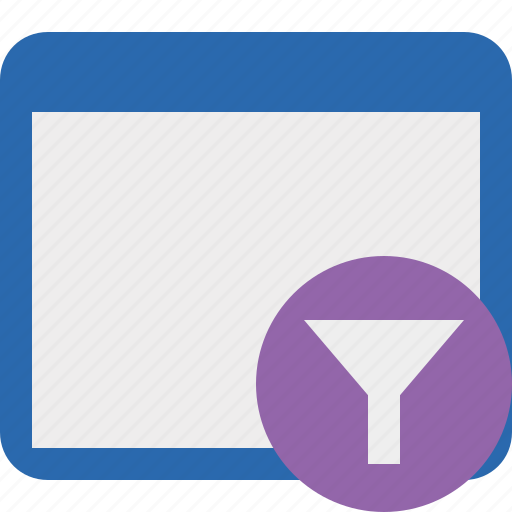 Application, filter, window icon - Download on Iconfinder