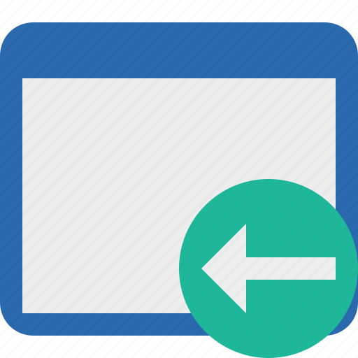 Application, previous, window icon - Download on Iconfinder