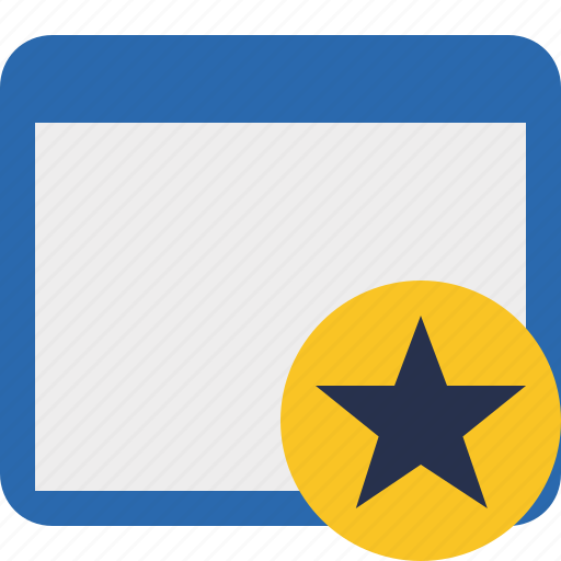 Application, star, window icon - Download on Iconfinder