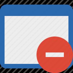 application, stop, window icon