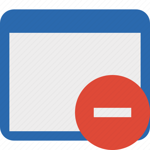 Application, stop, window icon - Download on Iconfinder