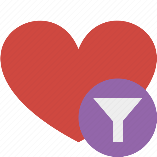 favorites, filter, heart, love, valentine icon
