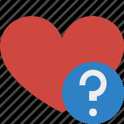 favorites, heart, help, love, valentine icon