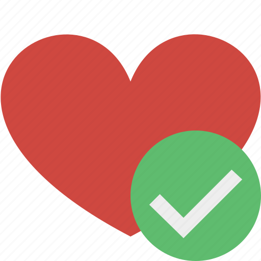 favorites, heart, love, ok, valentine icon
