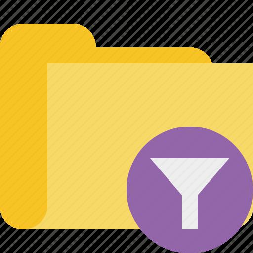 category, filter, folder icon