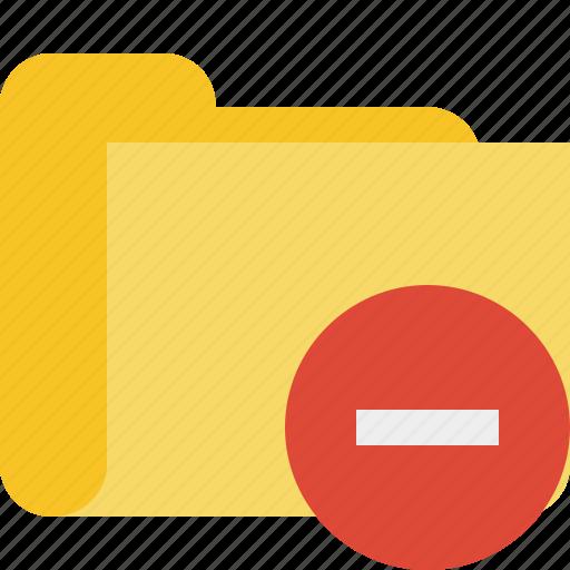 category, folder, stop icon
