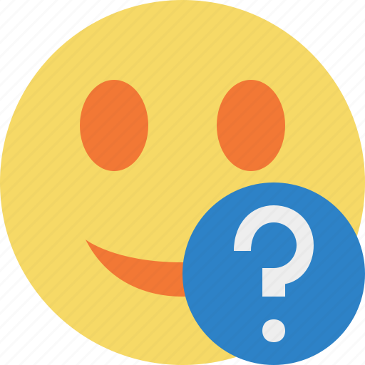 Help, smile, emoticon, emotion, face icon - Download on Iconfinder