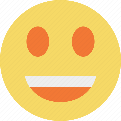emoticon, emotion, face, laugh, smile icon