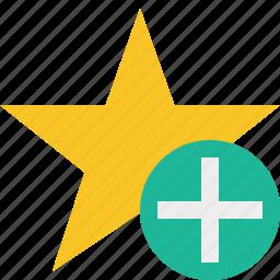 achievement, add, bookmark, favorite, rating, star icon