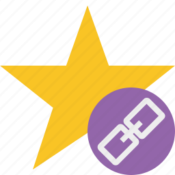 achievement, bookmark, favorite, link, rating, star icon