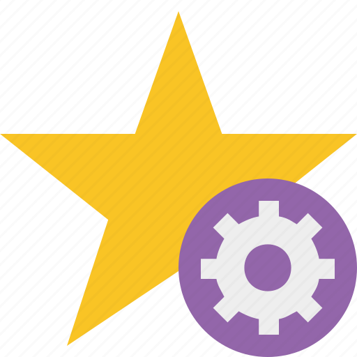 achievement, bookmark, favorite, rating, settings, star icon