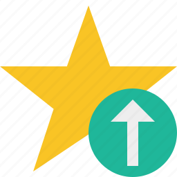 achievement, bookmark, favorite, rating, star, upload icon