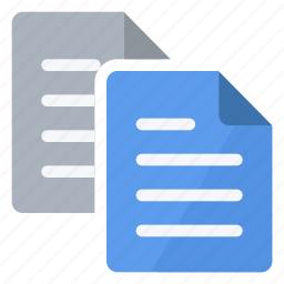 clipboard, copy, documents, files, note, paper, sheets icon