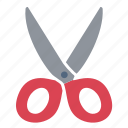 clipboard, cut, design, note, paper, scissors, tool icon