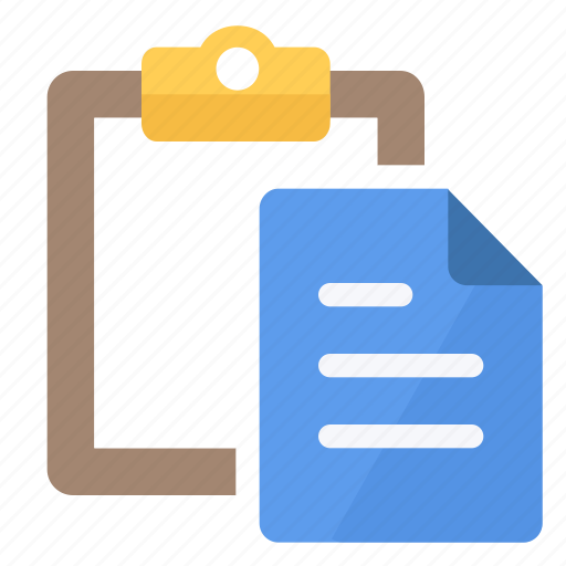 clipboard, document, documents, note, paper, paste, text icon