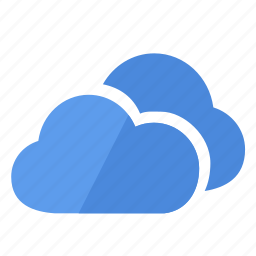 clouds, cloudy, data, database, download, storage, weather icon