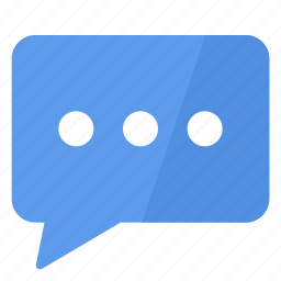 bubble, comment, commentary, communication, interaction, message, opinion icon