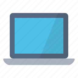 computer, device, home, laptop, personal, technology, work icon
