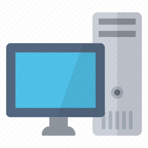 computer, desktop, device, home, pc, powerful, workstation icon