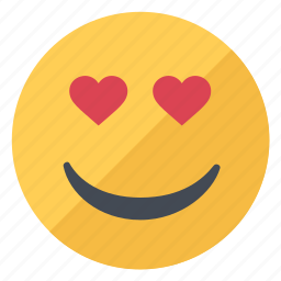 emoji, emoticon, emotion, favorite, heart, love, smile icon