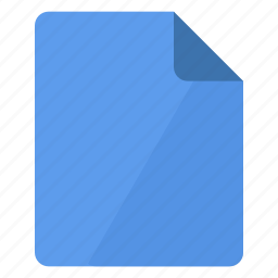 blue, document, documents, file, paper, portrait, sheet icon