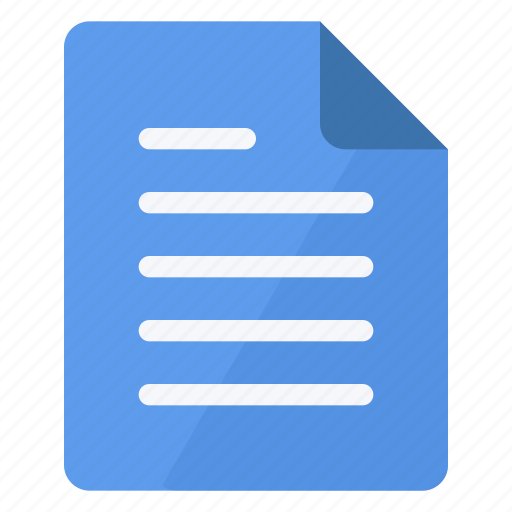 blue, document, file, paper, portrait, sheet, text icon