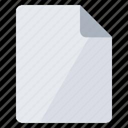 document, documents, file, gray, paper, portrait, sheet icon