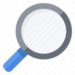 find, glass, look, magnify, magnifying, search, zoom icon