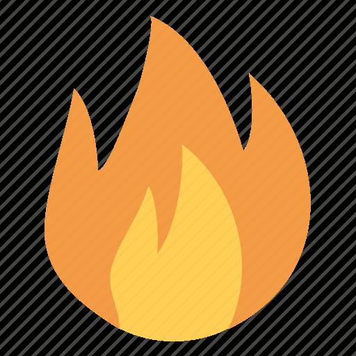 burn, fire, flame, heat, hot, temperature icon