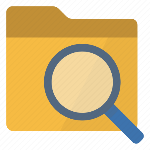 browser, find, folder, path icon