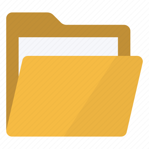 data, document, documents, file, files, folder, open icon