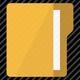 data, document, file, folder, vertical icon