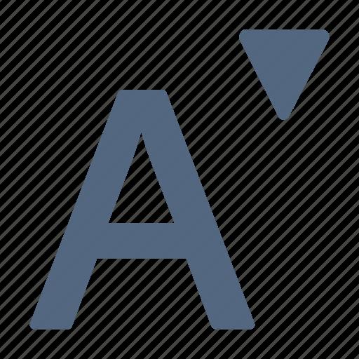 bill, decrease, font, letter, number icon