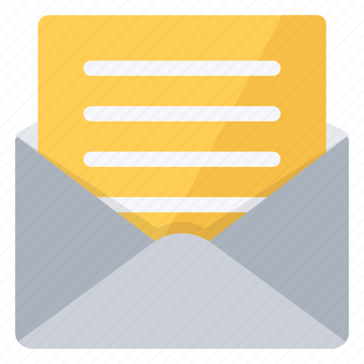 Letter, mail, message, open icon - Download on Iconfinder
