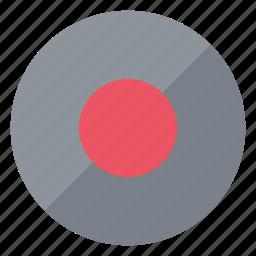 media, record, recording icon