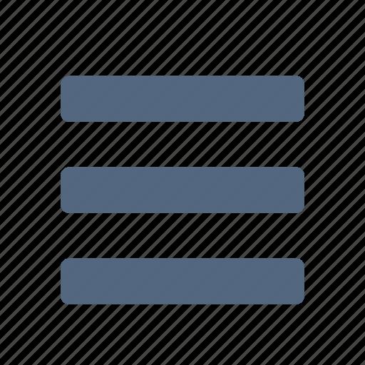 deploy, list, menu, open icon