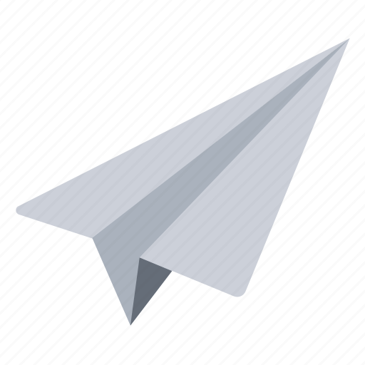 message, paper, plane icon