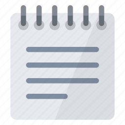 document, notepad, notes, page, paper, sheet, text icon