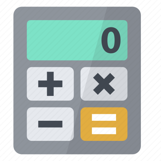 business, calculator, minus, multiply, operations, plus, professional icon