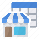 buy, market, products, store, table icon