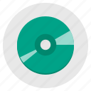 audio, audio cd, compact disc, music, recording icon