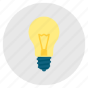 bulb, concept, creativity, genius, idea, imagination, light icon
