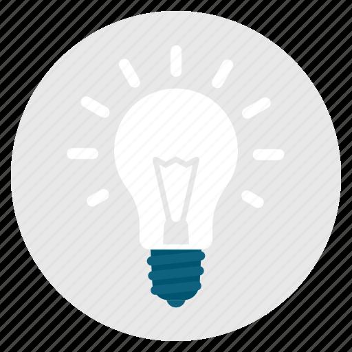 bulb, concept, creativity, genius, idea, imagination, light icon